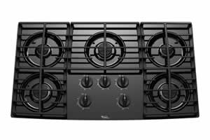 Whirlpool GLT3657RB Gas Cooktop