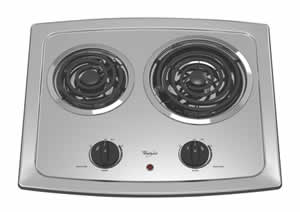 Whirlpool RCS2002RS Electric Coil Cooktop