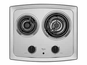 Whirlpool RCS2012RS Electric Coil Cooktop